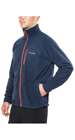 Columbia Fast Trek II - Sweat-shirt Homme - bleu